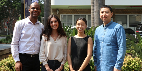 PhD students from The George Institute for Global Health